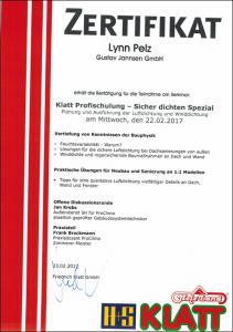 Klatt-Profischulung-Sicher-dichten-Spezial-Lynn-Pelz