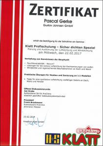 Klatt-Profischulung-Sicher-dichten-Spezial-Pascal-Gerke